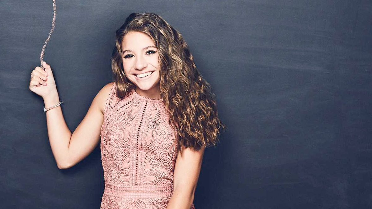 Mackenzie Ziegler's Book Is Now On The Advice Shelves