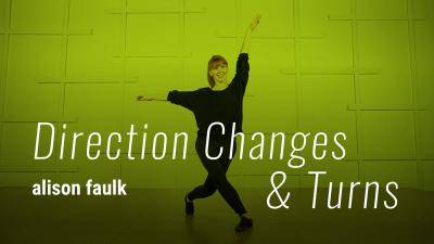 """Alison Faulk """"Direction Changes and Turns"""" - Jazz Online Dance Class Exercise"""
