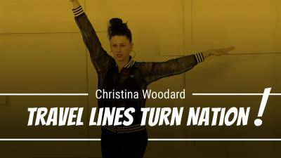 "Christina Woodard "" Travel/Lines/Turn Nation!"" - Jazz Online Dance Class/Choreography Tutorial"