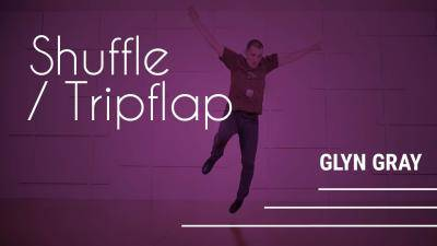 """Glyn Gray """"Shuffle/Tripflap"""" - Tap Online Dance Class Exercise"""