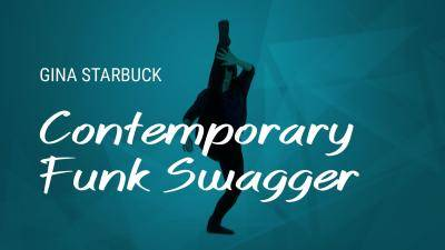 "Gina Starbuck ""Contemporary Funk Swagger"" - Contemporary Online Dance Class Exercise"