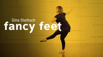 "Gina Starbuck ""Fancy Feet"" - Contemporary Online Dance Class Exercise"