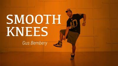 "Gus Bembery ""Smooth Knees"" - Hip-Hop Online Dance Class Exercise"