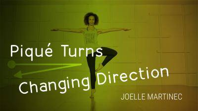 "Joelle Martinec ""Piqué Turns Changing Direction"" - Lyrical Online Dance Class Exercise"