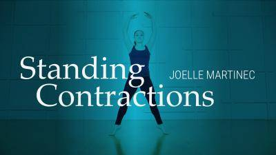 """Joelle Martinec """"Standing Contractions"""" - Lyrical Online Dance Class Exercise"""