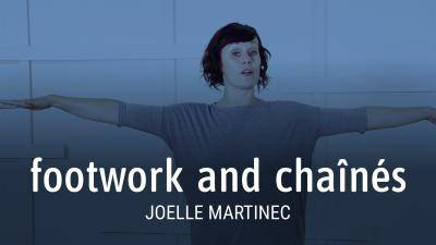 "Joelle Martinec ""Footwork and Chaînés"" - Jazz Online Dance Class Exercise"