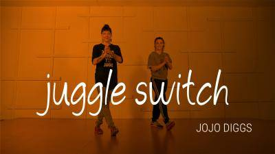 """Jojo Diggs """"Juggle Switch"""" - Advanced House Online Dance Class Exercise"""