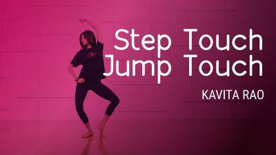 "Kavita Rao ""Step Touch, Jump Touch"" - Bollywood Online Dance Class Exercise"