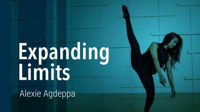 """Alexie Agdeppa """"Expanding Limits"""" - Contemporary Online Dance Class/Choreography Tutorial"""