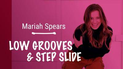 """Mariah Spears """"Low Grooves & Step Slide"""" - Jazz Funk Online Dance Class/Choreography Tutorial"""