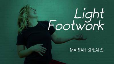 """Mariah Spears """"Light Footwork Groove"""" - Jazz Funk Online Dance Class Exercise"""