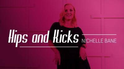 """Nichelle Bane """"Hips and Kicks"""" - Theatre Online Dance Class Exercise"""