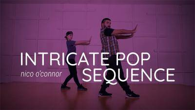 "NiCo O'Connor ""Intricate Pop Sequence"" - Jazz Funk Online Dance Class Exercise"
