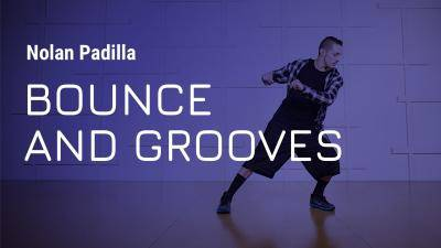 """Nolan Padilla """"Bounce and Grooves"""" - Hip-Hop Online Dance Class/Choreography Tutorial"""