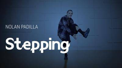 "Nolan Padilla ""Stepping"" - Hip-Hop Online Dance Class Exercise"