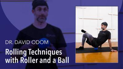 """Dr David Odom """"Rolling Techniques with Roller and Ball"""" - Health & Fitness Online Dance Class Tutorial"""
