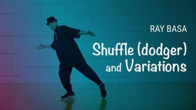 "Ray Basa ""Shuffle (dodger) and Variations"" - House Online Dance Class Exercise"