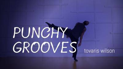 """Tovaris Wilson """"Punchy Grooves"""" - Jazz Funk Online Dance Class Exercise"""