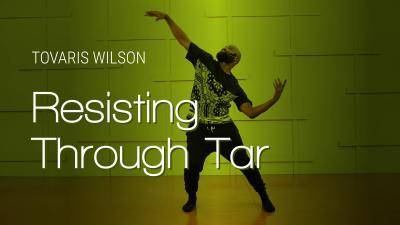 "Tovaris Wilson ""Resisting Through Tar"" - Jazz Funk Online Dance Class Exercise"