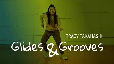 "Tracy Takahashi ""Glides and Grooves"" - Jazz Funk Online Dance Class Exercise"