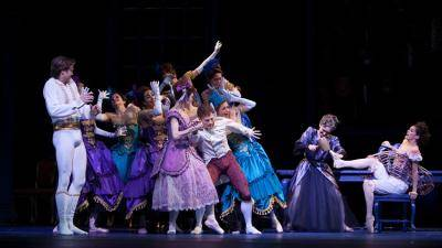 Dutch National Ballet performing Cinderella