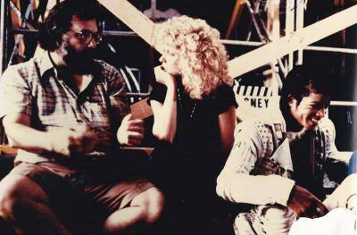 Helene Philipps on Captain EO set with Francis Ford Coppola and Michael Jackson