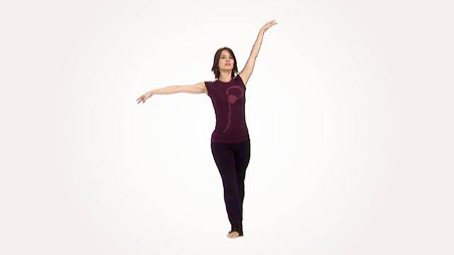 """Anh Dillon """"Small Jumps & Pirouette"""" - Jazz Online Dance Class/Choreography Tutorial"""