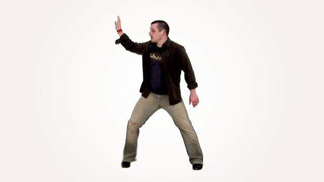 """Glyn Gray """"Toe Heel Wiggle Slide with Arms"""" - Tap Online Dance Class/Choreography Tutorial"""
