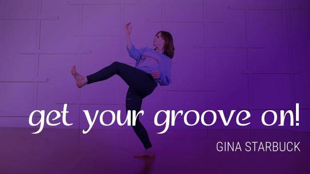 """Gina Starbuck """"Get Your Groove On!"""" - Jazz Funk Online Dance Class/Choreography Tutorial"""