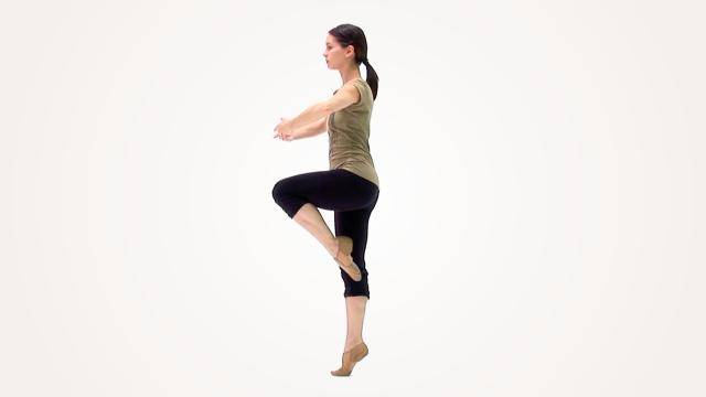 """Anh Dillon """"Outside Parallel Pirouette"""" - Jazz Online Dance Class/Choreography"""