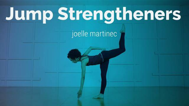 """Joelle Martinec """"Jump Strengtheners"""" - Strength & Conditioning Online Class Exercise"""