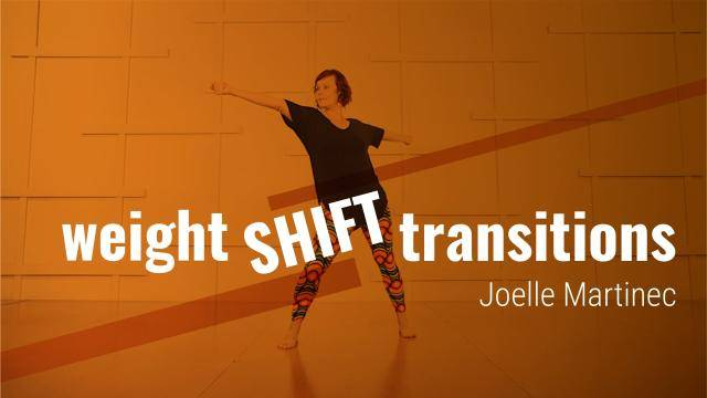 """Joelle Martinec """"Weight Shift Transitions"""" - Jazz Online Dance Class/Choreography Tutorial"""