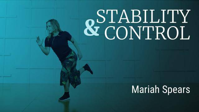 """Mariah Spears """"Stability and Control Exercise"""" - Jazz Funk Online Dance Class/Choreography Tutorial"""