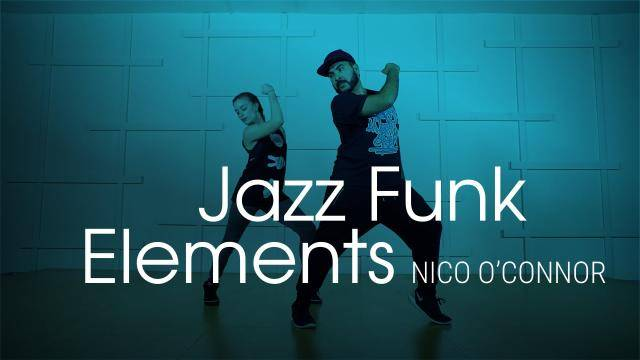 """NiCo O'Connor """"Jazz Funk Elements"""" - Jazz Funk Online Dance Class Exercise"""