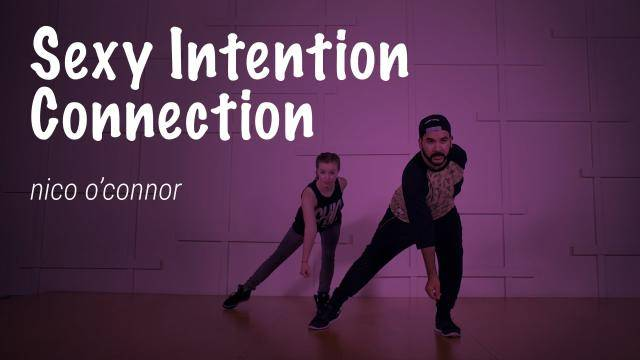"""NiCo O'Connor """"Sexy Intention Connection"""" - Jazz Funk Online Dance Class Exercise"""