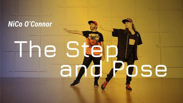 """NiCo O'Connor """"The Step and Pose"""" - Jazz Funk Online Dance Class Exercise"""