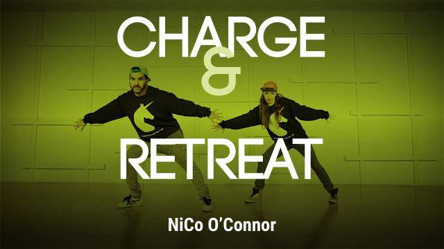 """NiCo O'Connor """"Charge and Retreat"""" - Jazz Funk Online Dance Class Exercise"""