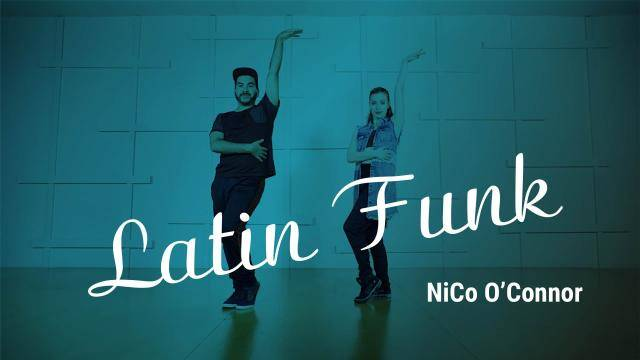 """NiCo O'Connor """"Latin Funk"""" - Jazz Funk Online Dance Class Exercise"""