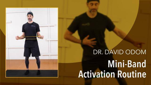 """Dr David Odom """"Mini-Band Activation Routine"""" - Health & Fitness Online Dance Tutorial"""
