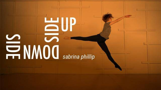 """Sabrina Phillip """"Side Down Side Up"""" - Contemporary Online Dance Class/Choreography Tutorial"""