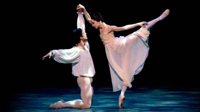 """ABT's Roberto Bolle and Alessandra Ferri in """"Romeo and Juliet"""""""