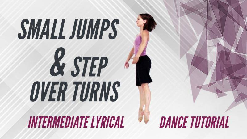 Small Jumps & Step Over Turns