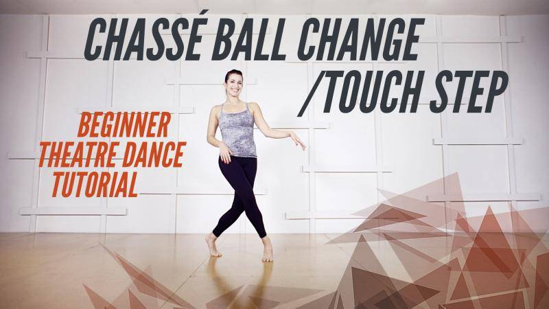 Chassé Ball Change/Touch Step