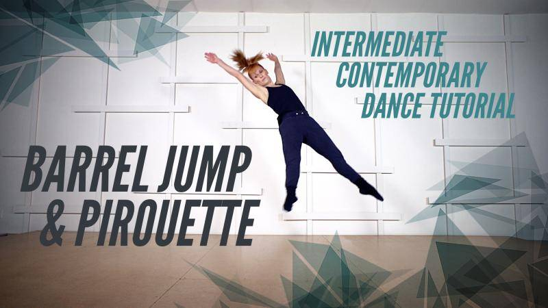 Barrel Jump and Pirouette