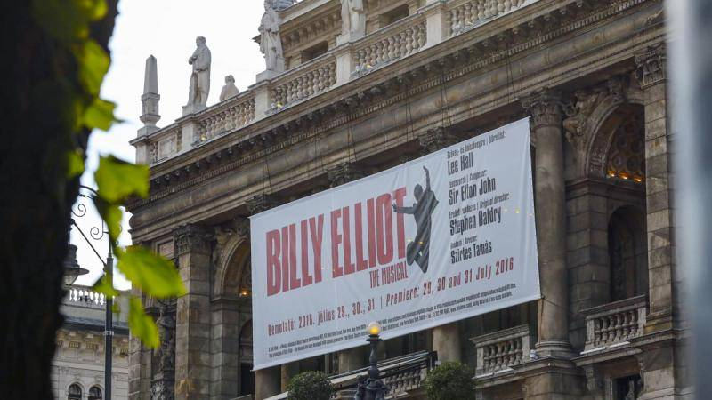 Billy Elliot The Musical at the Hungarian State Opera Budapest