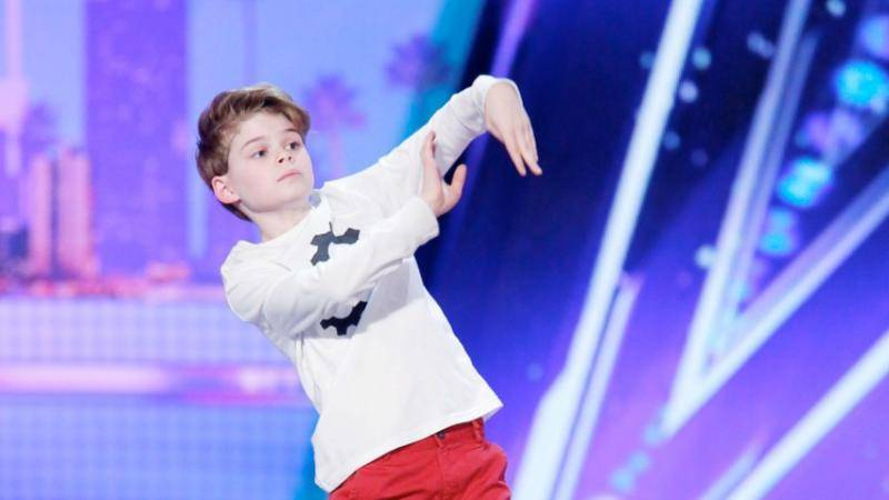 Merrick Hanna on America's Got Talent!